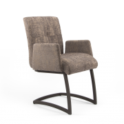 ASTRID ARMCHAIR FREISWINGER GREY BROWN